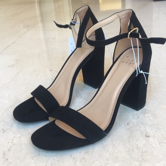 32c969c94045 Women s Ema High Block Heel Pumps- Black